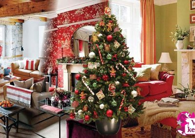 American-Santa-sfeerbeeld