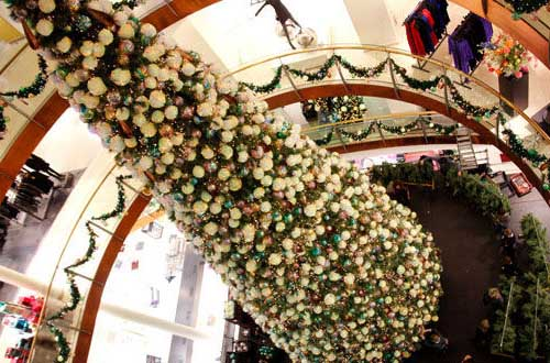 Kerstboom Bijenkorf Den Haag
