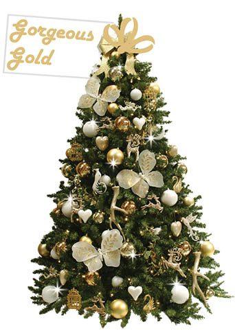 gedecoreerde-kerstboom-Gorgeous-Gold