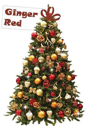 Ginger Red kerstboom