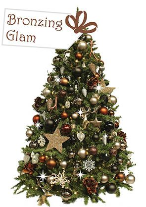 Bronzing-Glam-kerstboom