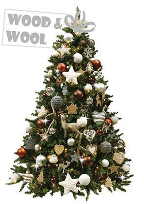 Wood & Wool-kerstboom