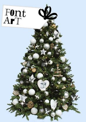 kersttrend-2016-versierde-kerstboom-Font-Art