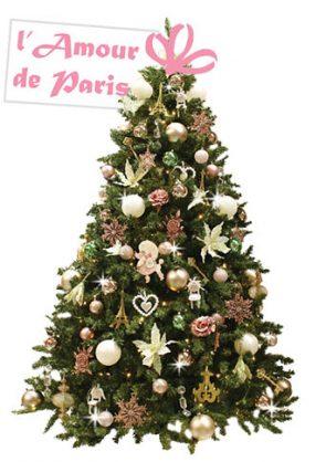 versierde-kerstboom-Amour-de-Paris