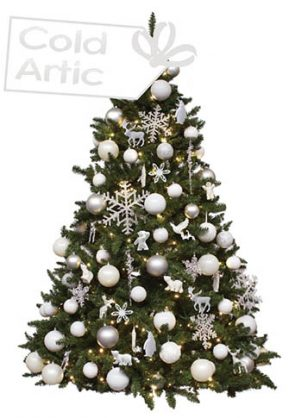 versierde-kerstboom-Cold-Artic