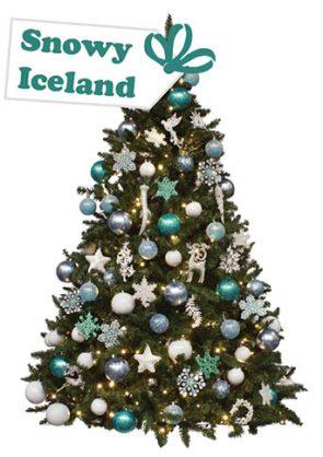 versierde-kerstboom-Snowy-Iceland
