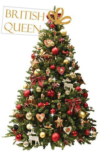 versierde-kerstboom-Britisch-Queen