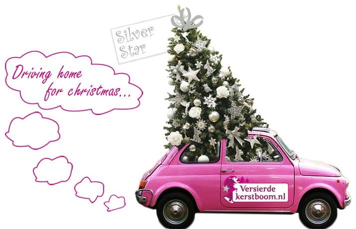 Levertijd kant-en-klaar versierde kerstbomen