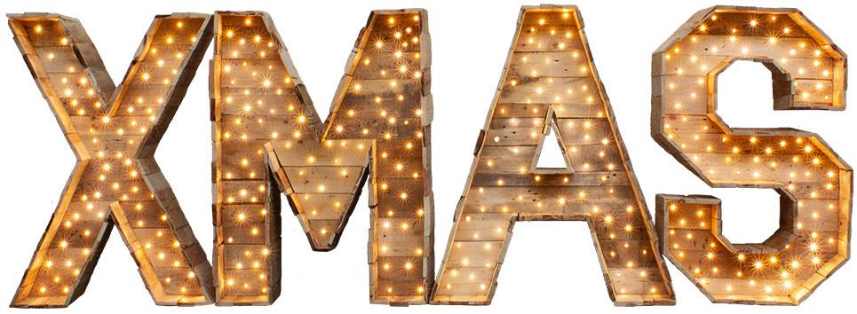 XL XMAS letters